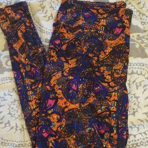 Lularoe Colorful TC Leggings